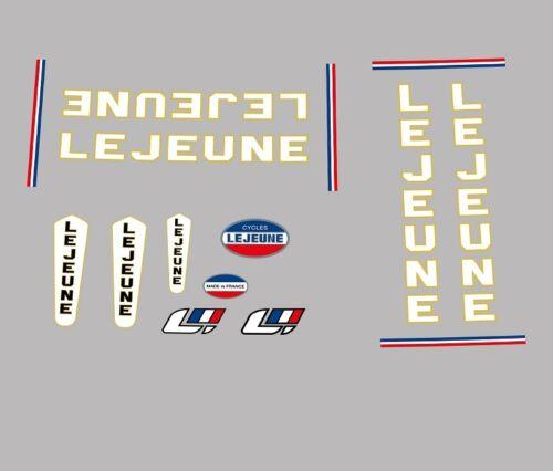 stickers n.30 Vélo Lejeune decals transferts