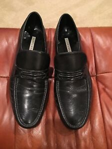 64d0e5e7983 Image is loading FLORSHEIM-MEN-039-S-BLACK-SOFT-LEATHER-LIGHT-