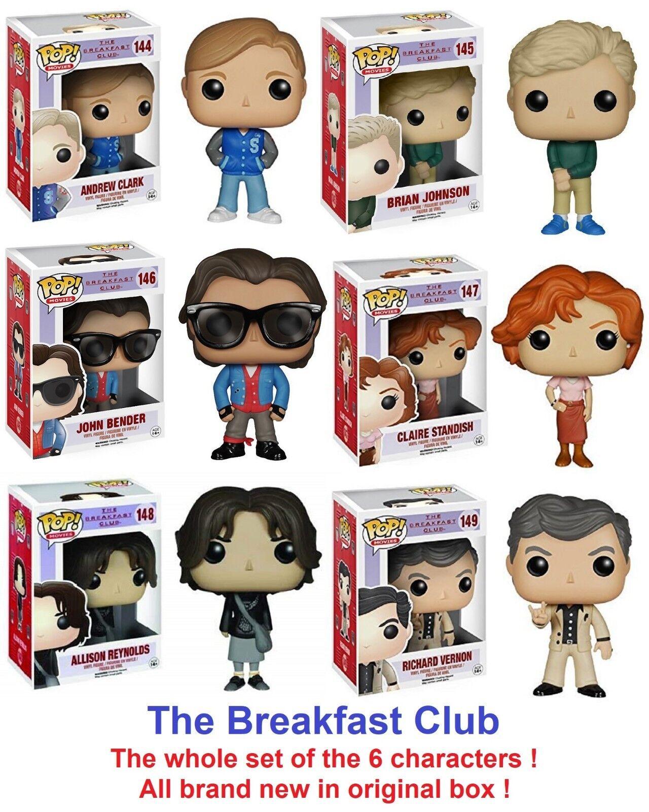 Diverdeimentoko POP -  Movies - The Breakfast Club - John Bender  146 - Set of 6 Characters  ordina adesso