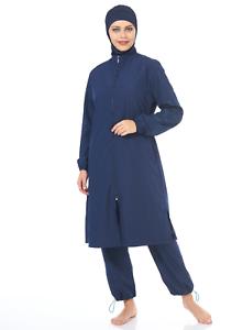 tesettür Mayo swimwear costumi da bagno hijab E-9782 hasema burkini Costume da bagno