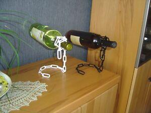 Belywein Weinflaschenhalter verschieden Finish Flaschenhalter Geschenkidee Wein