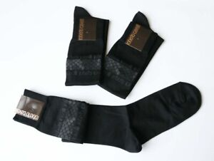Cavalli-Men-Long-Socks-size-M-Fit-Shoe-size-6-7-8-Gift-for-Him-NWT