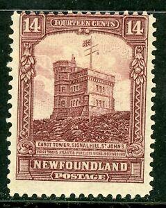 Canada-1928-Newfoundland-14-Cabot-Tower-Scott-155-Mint-Z883