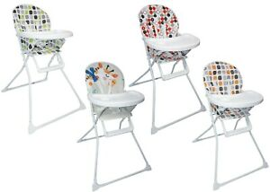 Swell Details About Baby Foldable High Chair Highchair W Padded Seat Feeding Tray Various Designs Machost Co Dining Chair Design Ideas Machostcouk