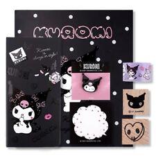 Sanrio Kuromi Kawaii Planner Diary Notebook Set Gift