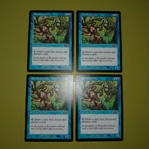 Merfolk-Looter-x4-Exodus-Magic-the-Gathering-MTG-4x-Playset