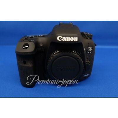 Canon EOS 7D Mark II 20.2MP Digital SLR Camera (Body) Japan Domestic Version New