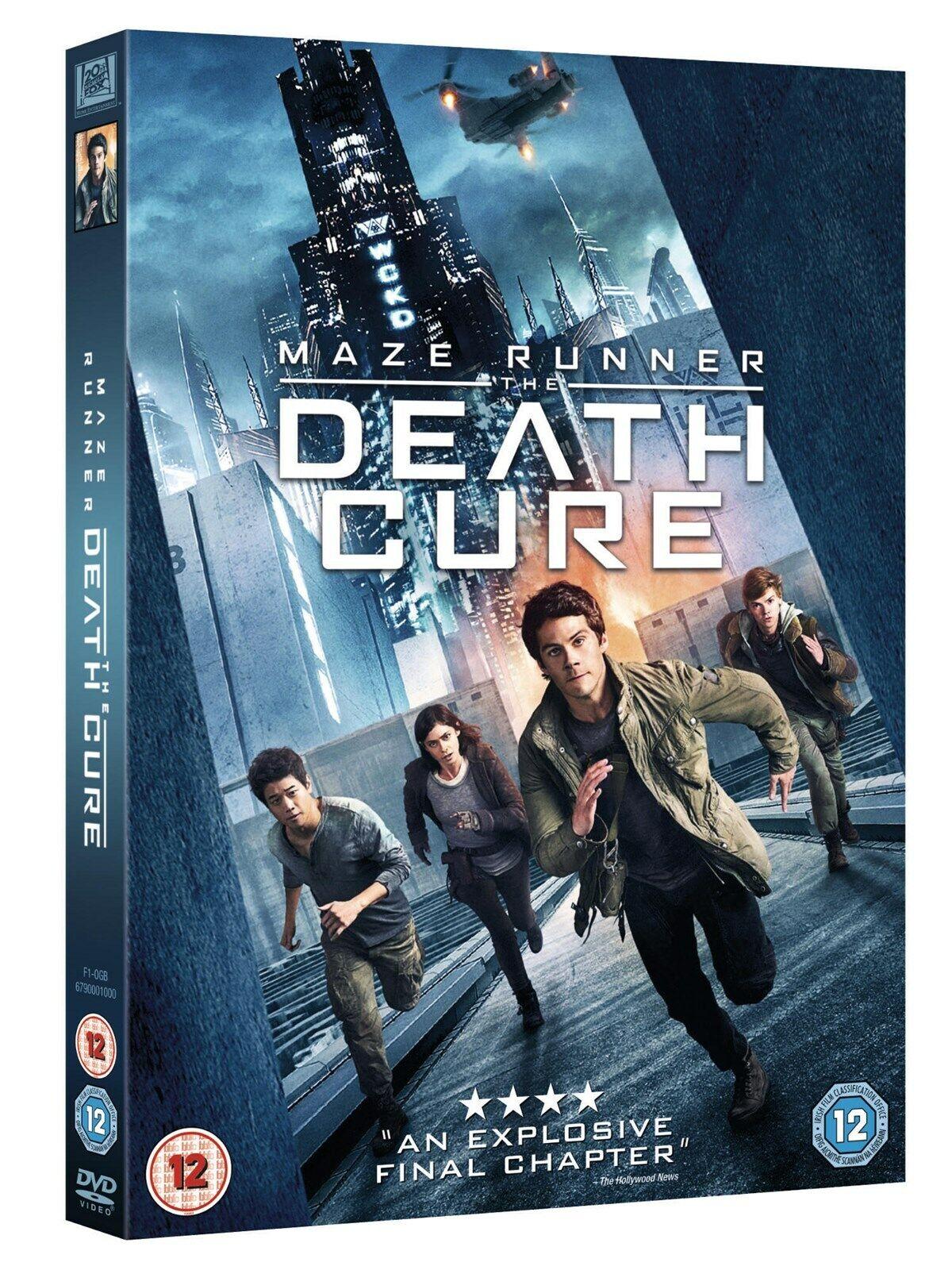 Maze Runner The Death Cure 2018 Genuine Uk R2 Dvd Fast Post Immediate Dispatch For Sale Online Ebay
