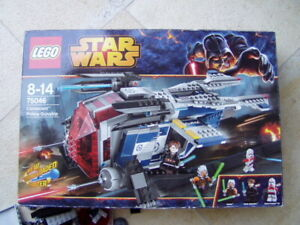 Lego-Star-Wars-75046-Coruscant-Police-Gunship-mit-Karton-ohne-Figuren