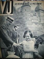 MAGAZINE VU N 543 Pdt LEBRUN VIZILLE REPORTER CRIMINALISTE PALESTINE SAUMUR 1938