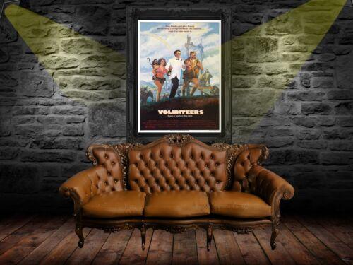 Volunteers 1985 Movie Poster A0-A1-A2-A3-A4-A5-A6-MAXI 963