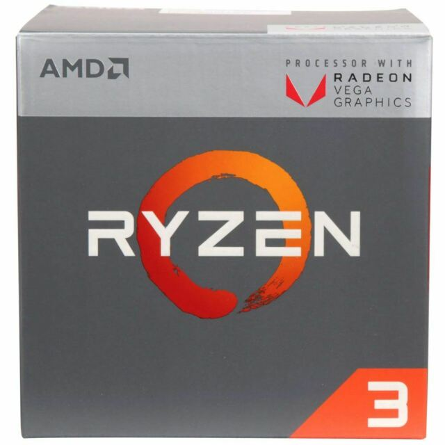 AMD Ryzen 3 2200g Processor With Radeon Vega 8 Graphics YD2200C5FBBOX