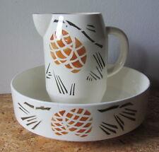 Antica brocca e catino - ceramica - arredamento bagno / toilette - Art deco