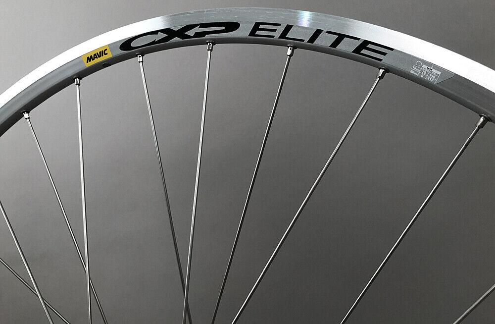 Image 2 - Mavic CXP Elite Rims Shimano RS40 Hubs Silver Road Bike Wheelset 8 9 10 11 Speed
