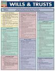 Wills & Trusts Laminate Reference Chart by BarCharts Inc 9781572228153