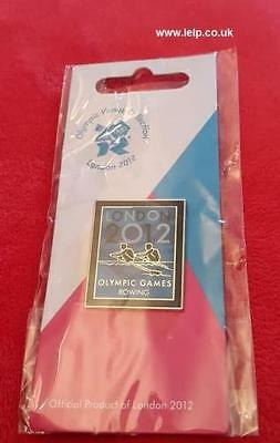 Olympics London 2012 Venue Sports Logo Pictogram Pin Code 1749 Rowing
