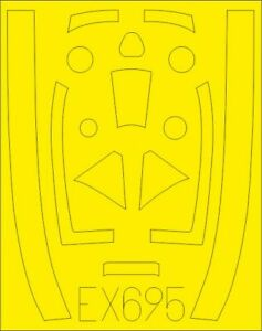 Eduard-Accessories-EX695-1-48-Tempest-Mk-V-for-Eduard-Neu