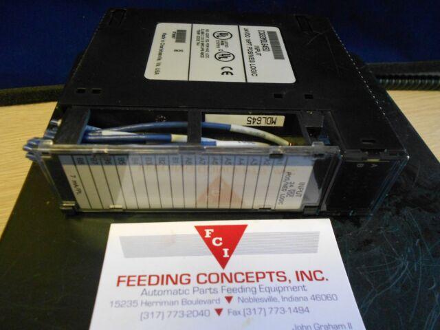GE-Fanuc IC693MDL645D Input Module for sale online