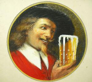 Project-Pub-Drinker-of-Beer-Signed-Roch-Fund-Print-Strasbourg-Alsace
