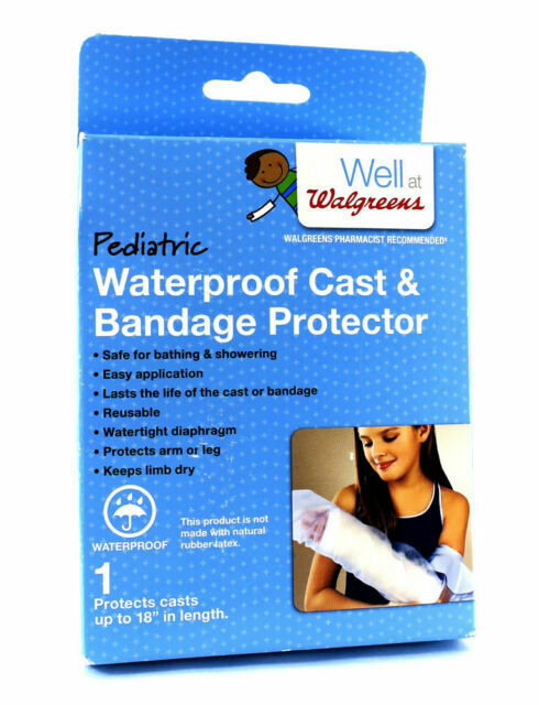 Child Reusable Waterproof Cast Bandage Protector 18 Walgreens For