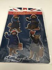 Paddington Bear Officially Licensed Fridge Magnet Set Of 4