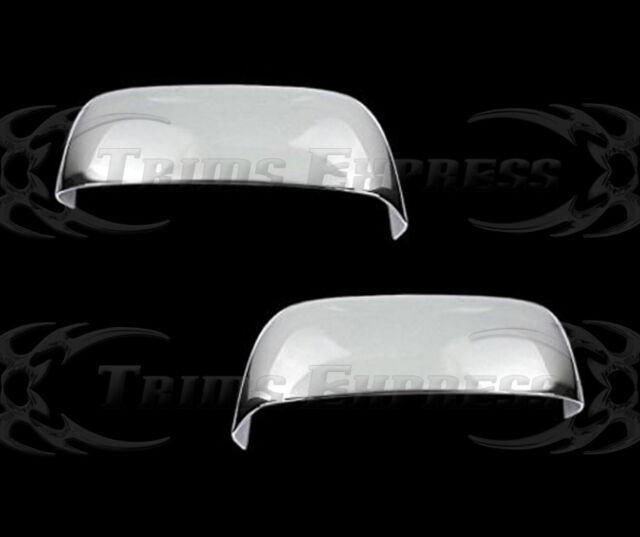 02-08 Dodge Ram 1500/03-09 Ram 2500/3500 Tow Chrome Door Mirror Covers-Top Half