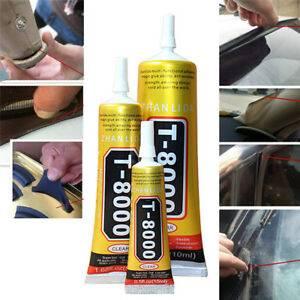 Details about 15ML Glue T-8000 Clear Epoxy Resin Sealant Craft Industrial  Glass Jewelry1packVU