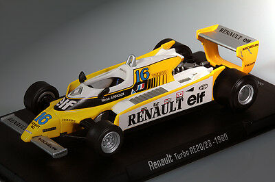 RENAULT TURBO RE20/23 René Arnoux 1980 Formula 1 - 1:43 RBA NEW and UNOPENED !!