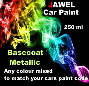 Pearl-Car-Paint-Polyester-Basecoat-250ml-ANY-COLOUR-MIXED-TO-MATCH-YOUR-CAR