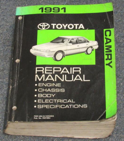 ebay motors1991 toyota camry service repair manual