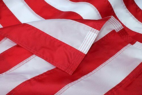 3 x 5ft Heavy Duty American Flag with Fully Sewn Stripes and Embroidered Stars