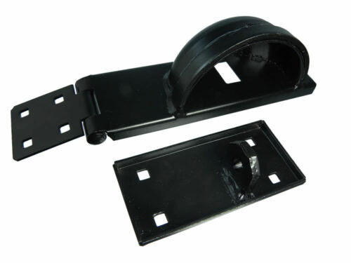 1 PC de Hasp /& Staple comprend Cadenas Verrou protection sécurité Bar Gaucher