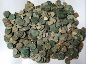 MEDIUM-QUALITY-UNCLEANED-ANCIENT-JUDAEA-JEWISH-BIBLICAL-COINS-PER-COIN-BUYING