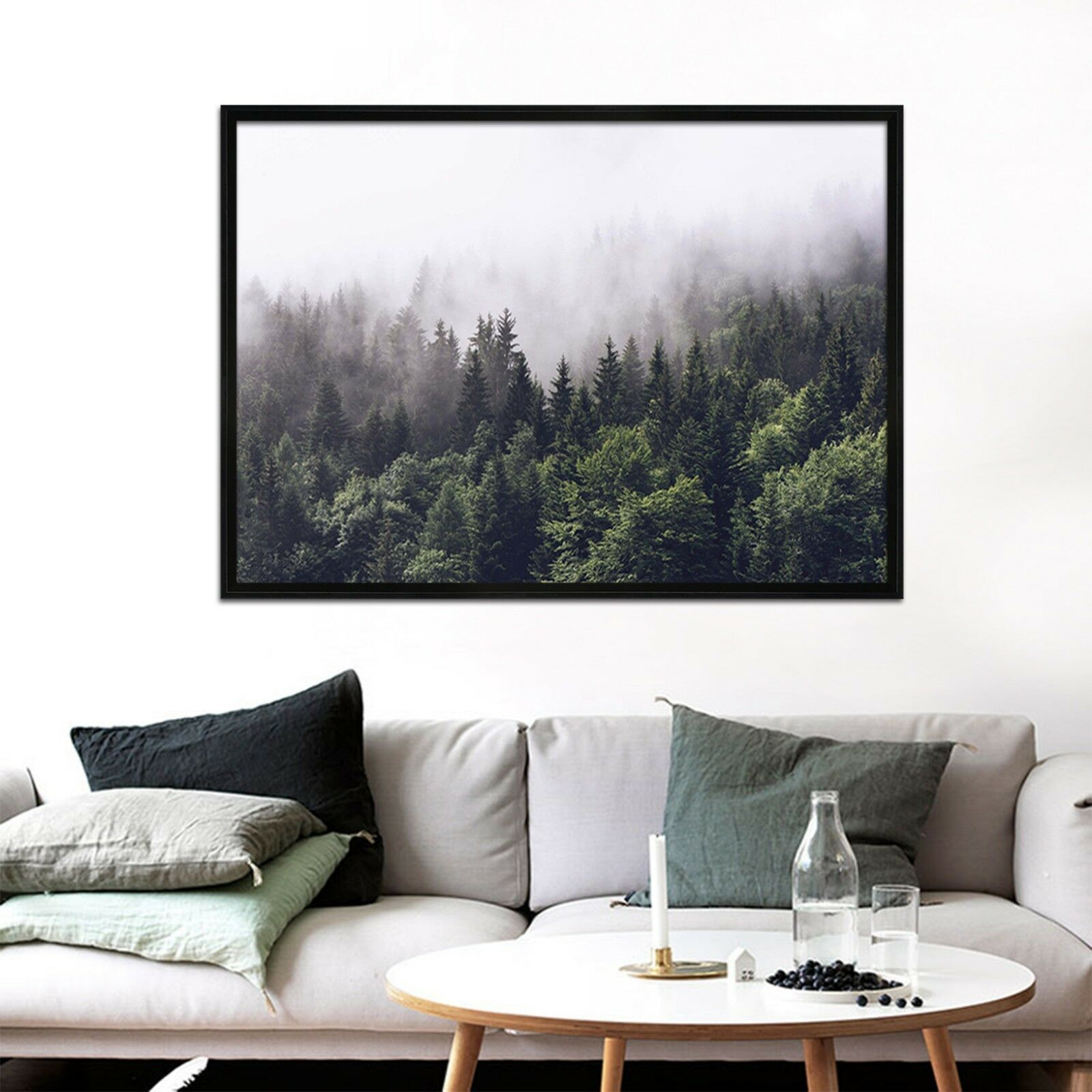 3D Forest 664 Fake Framed Poster Home Decor Print Painting Unique Art Summer