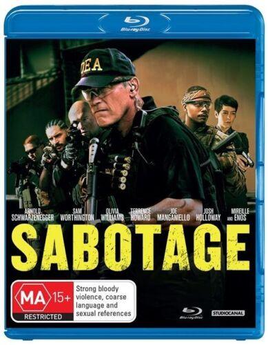 1 of 1 - Sabotage (Blu-ray) Arnold Schwarzenegger, Sam Worthington, Action, Crime, Drama