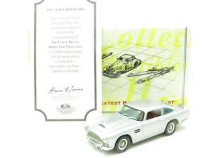Matchbox-Collectibles-DYB06-M-1962-Aston-Martin-DB4-Plata-1-43-ESCALA-en-Caja