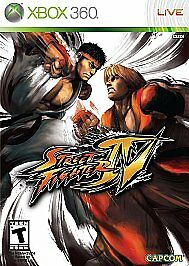 Super-Street-Fighter-IV-4-Microsoft-Xbox-360-DISC-ONLY-Fighting-Battle-Arcade