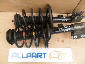 peugeot 307 cc front shock absorbers and springs (pair) 2.0 petrol
