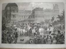 PARIS Francia Serenata tuilieries la víspera de Año Nuevo 1853