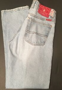 b83539b0 Vintage Red Label Lucky Brand Mens Button Fly Jeans - Size 32 | eBay