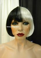 Modern Cruella Wig Very Cool Eve From Sepia .. Costume Wig