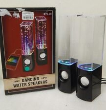 Dancing Water 2-Piece Speakers for Ipods/Computers *Retail Box*  (35227)
