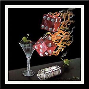 Michael-Godard-Shoot-the-Wad-Framed-Art-W-Matting-18x18