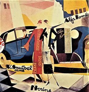 Arte Automobilismo - Cento Manifesti: Alfa Romeo - ed. 1981