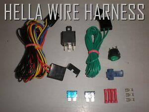 Brilliant 1 Genuine Hella 500Ff Headlight Replacement Wiring Harness Kit Ebay Wiring Digital Resources Pelapshebarightsorg