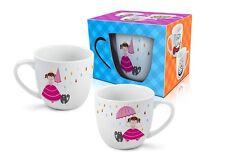 """""""PRINCESS"""" divertente e colorata Tazza in ceramica per Bambini 350ml REGALO"""