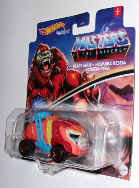 Beast Man Character Cars Hotwheels Masters of The Universe 4//5