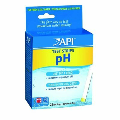 Api Aquarium Pharmaceuticals Freshwater Ph Test Strips 25 Tests Expires 07-2019 Curing Cough And Facilitating Expectoration And Relieving Hoarseness Pet Supplies Cleaning & Maintenance
