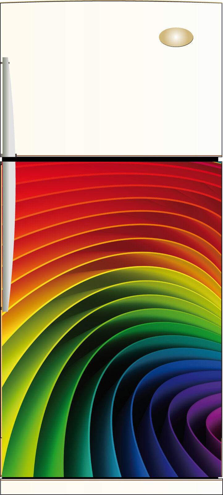 Aufkleber Kühlschrank Dekor Küche Design 60x90cm Ref 213