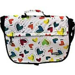 Yakpak-Messenger-Bag-with-Hearts-Print-with-lots-of-pockets-Shoulder-Strap